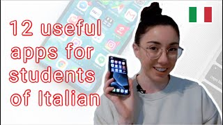 12 Useful Apps For Italian Language Students (subtitles)