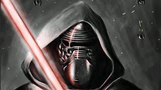Jeel - Speed Painting : Kylo Ren de Star Wars 7