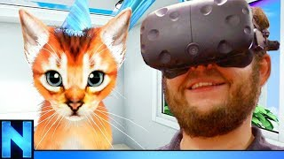 VR Cat Game Has No Right Being This Funny!