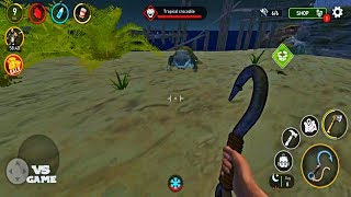 Survival on Raft: Ocean Nomad - Simulator Android Gameplay