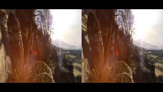 板津 昇龍  Shoryu Itazu  Magic Hands 10  🔴 VR Acrophobia 3D Jump from Mountain VR