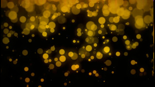 Bokeh 4-5k Ultra HD Golden Particles stock footage royalty free footages. Copy rights free