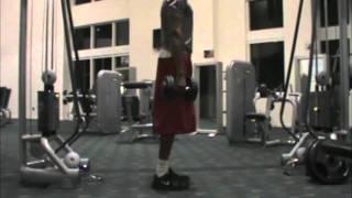 Dre Baldwin: Vertical Jump Workout Weighted Calf Raises | Basketball Explosiveness Training Speed