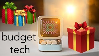 Best Budget Tech - Awesome Holiday Gift Ideas 2019!