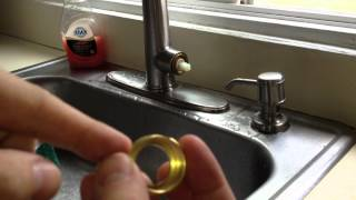 How To Fix A Leaky Kitchen Faucet Pfister Cartridge