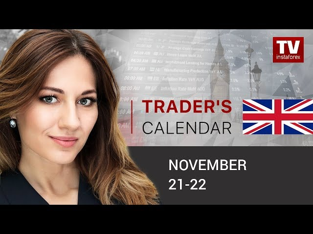 InstaForex tv calendar. Traders' calendar for November 21 - 22: Further EUR growth in question. Outlook for EUR/USD