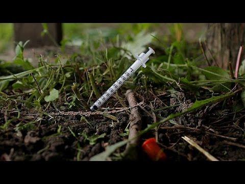 Αυξήθηκαν οι θάνατοι από τα ναρκωτικά στην Ευρώπη