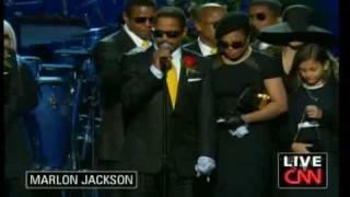 Michael Jackson Memorial - Family Memories and Man In The Mirror