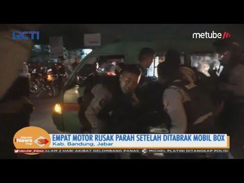 Diduga Sopir Mabuk, Mobil Box Tabrak Polisi dan Pengendara Wanita di Bandung - SIP 19/06