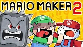 "Two ""Pro"" Gamers Play Mario Maker 2"