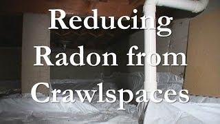 Mitigating Radon From Crawlspaces