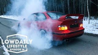 BMW e36 Turbo, BURNOUT, Volkswagen Golf mk1, Garage - Shimfoto, Lifestyle Episode 16.