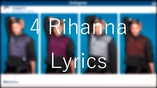 4 Rihanna「Todrick Hall」[On Screen Lyrics]
