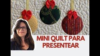 Mini Quilt Para Presentear