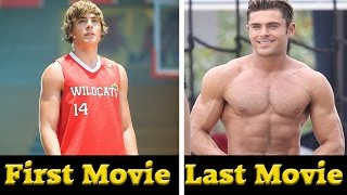 Zac Efron -  All Movies (2003- 2017)