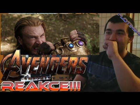 Marvel Studios' Avengers: Infinity War - Official Trailer #2 REACTION/REAKCE