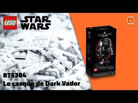 Vidéo LEGO Star Wars 75304 : Le casque de Dark Vador