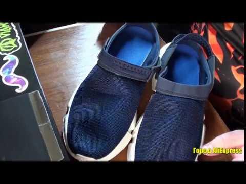 Кроссовки без задника или сандали с закрытым носом