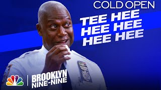 Cold Open: Holt and Marshmallows Are a Delightful Combo - Brooklyn Nine-Nine