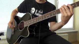 KJ - Harley Benton B-30 BK Acoustic Bass (Sound test) [HD]