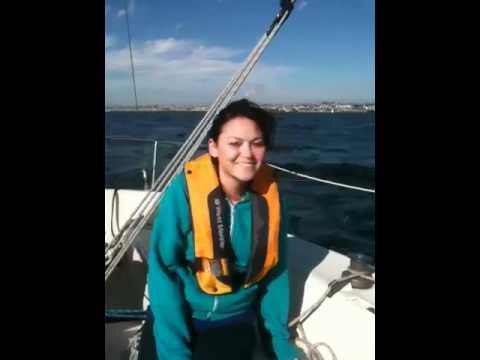 ASA 101 graduation sail - YouTube