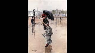 Hayley Westenra - Here Beside Me;   Jean Beraud 1 (1848-1935)