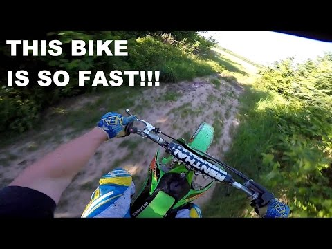 KX 125 Top Speed!!! & Some Trail Riding – Kx 125 Moto Vlog #37
