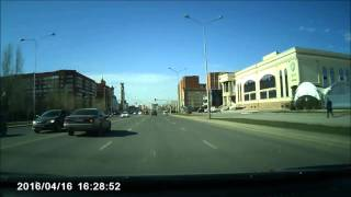 ДТП Астана  16 04 2016