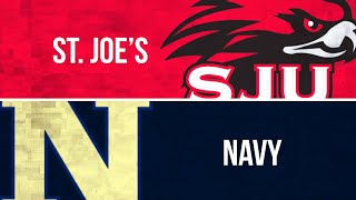 PLN Classic: Women's Lacrosse, St. Joe's at Navy (Feb. 17, 2019)