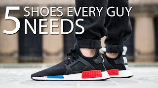 5 SHOES EVERY GUY NEEDS TO OWN   Must Have Sneakers For Men   Alex Costa