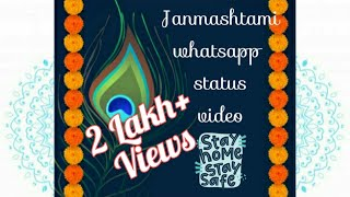 Krishna Janmashtami | Whatsapp Status 2020 | Janmashtami Special Status | Happy Krishna Janmashtami - Download this Video in MP3, M4A, WEBM, MP4, 3GP