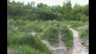 Discover Angell Woods!<br> No official biking trails but the jump park has grown since this video was shot.