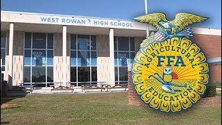 My visit to West Rowan High School