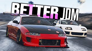 GTA 5 Online - The Eclipse is BETTER than the Supra!!!