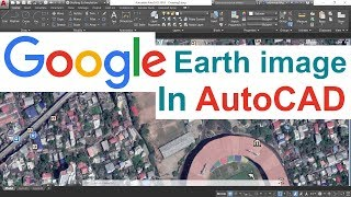 Google Earth Image Overlay in AutoCAD - Free video search site