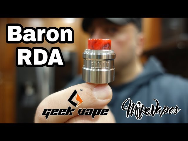 Baron RDA By Geek Vape - Coil Placement & Wicking Tutorial