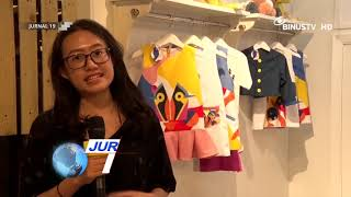 Pameran Fashion Mahasiswa BNSD