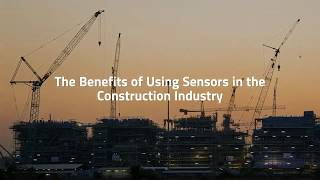 Giatec – The Benefits Of Using Sensors In The Construction Industry