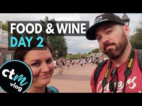 EPCOT International Food & Wine Festival 2018   Day 2