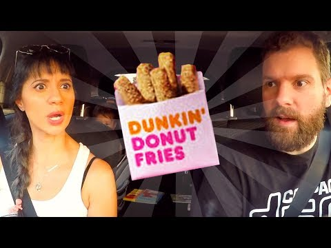DUNKIN DONUTS – DONUT FRIES | Fast Food Review