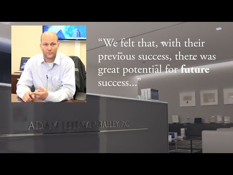 """""""We Felt That, with Their Previous Success, There Was Great Potential for Future Success."""" testimonial video thumbnail"""