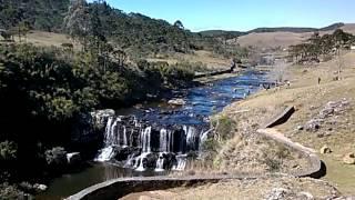 Cascata da Barrinha na Serra do Rio do Rastro - Destinos de Gravatal/SC