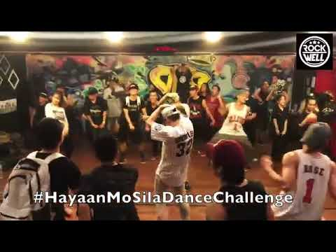 Hayaan Mo Sila Dance Challenge By Rockwell