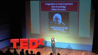 Why our world needs science fiction: Etienne Augé at TEDxErasmusUniversity
