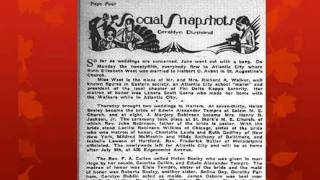 Society Queens: The Negro Press And The Harlem Renaissance