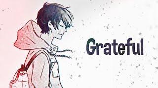 Nightcore   Grateful (Lyrics)