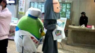 ゆるキャラやんちゃなトリピー鳥取県
