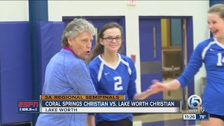 Lake Worth Christian Cruises in Regional Semis