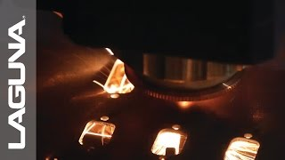 CNC Machine Laguna Fiber Laser CBX Cutting Steel, Brass, Aluminum, and Stainless Steel