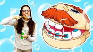 Развивающие видео для детей - Мимилэнд Мистер Зубастик чистит зубы